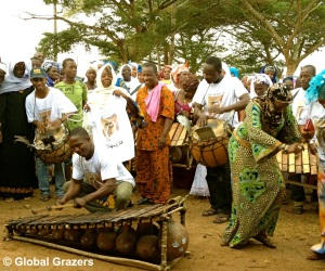 Musical Performance, Adzope, Ivory Coast